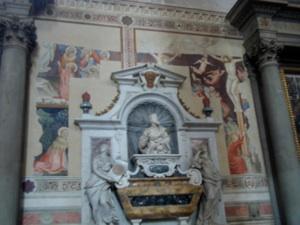 フレスコ画と解釈